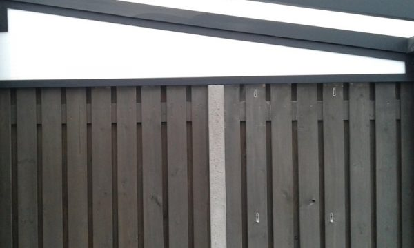 zijspie voor terrasoverkappingen