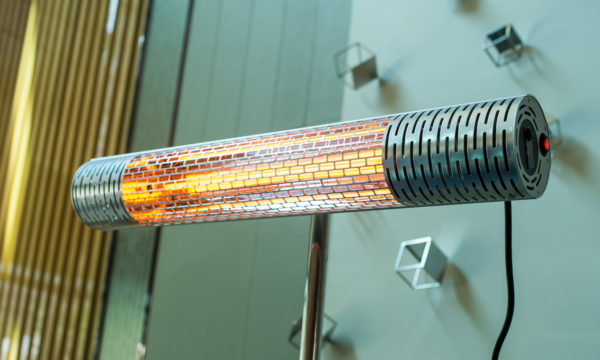 Heater Carbon 2000 Silver sfeer